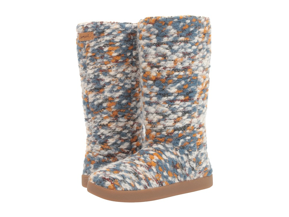 Sanuk Toasty Tails (Dusty Teal Speckle) Women