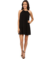 Jessica Simpson - Solid Ity Dress with Gold Chain Necklace JS6D8545