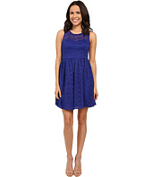 Jessica Simpson - Floral Lace Fit and Flare Dress JS6D8645