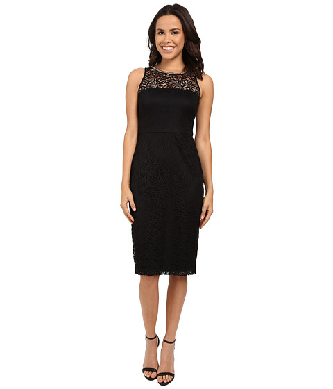 Jessica Simpson Sleeveless Lace Midi Dress JS6D8548