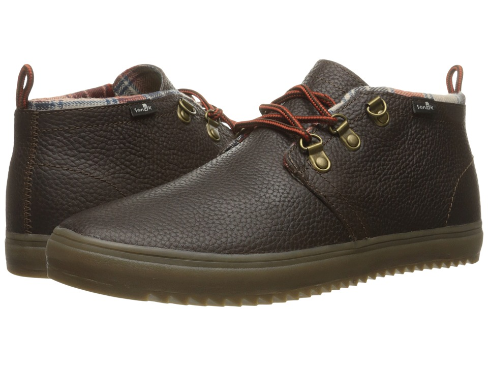 Sanuk - Cargo Deluxe (Dark Brown) Men