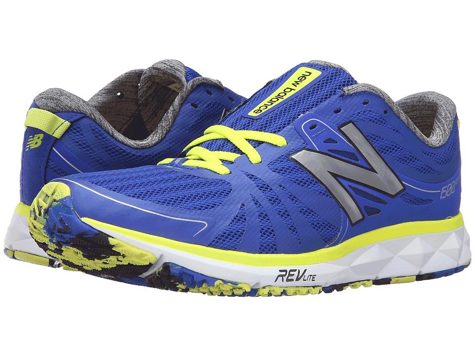 New Balance - M1500v2 (Blue/Yellow) Men