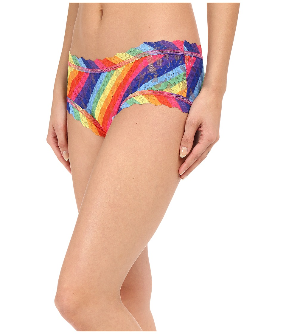 Hanky Panky Rainbow Stripe Boyshorts Multi Womens Underwear