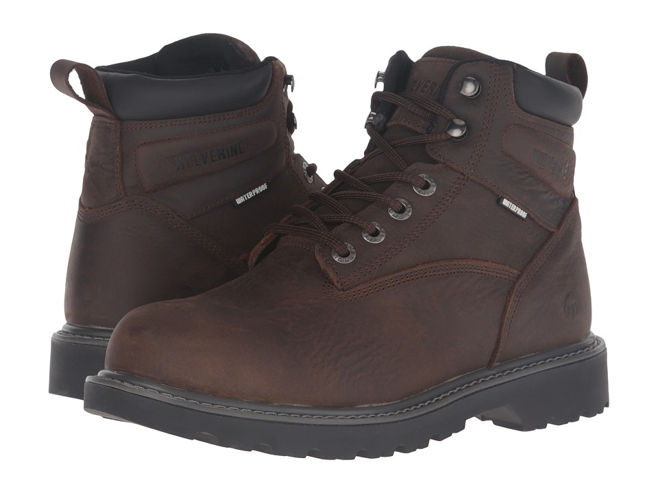 Wolverine Floorhand Steel Toe (Dark Brown) Men