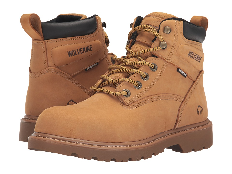 Wolverine Floorhand Soft Toe (Wheat) Men