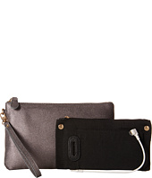 Mighty Purse - Cow Leather Charging Wristlet