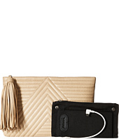 Mighty Purse - Goat Leather Charging 'Geo Clutch
