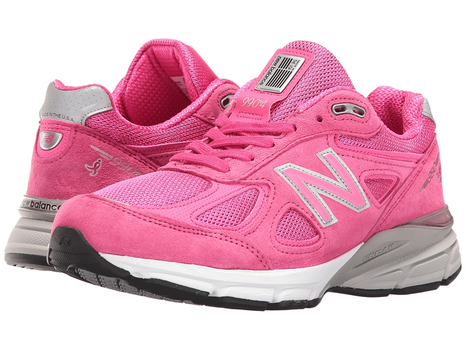 New Balance 990 V4 (Pink/Purple) Women's Running Shoes