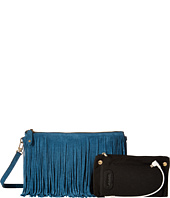 Mighty Purse - Suede Leather Charging Fringe Bag