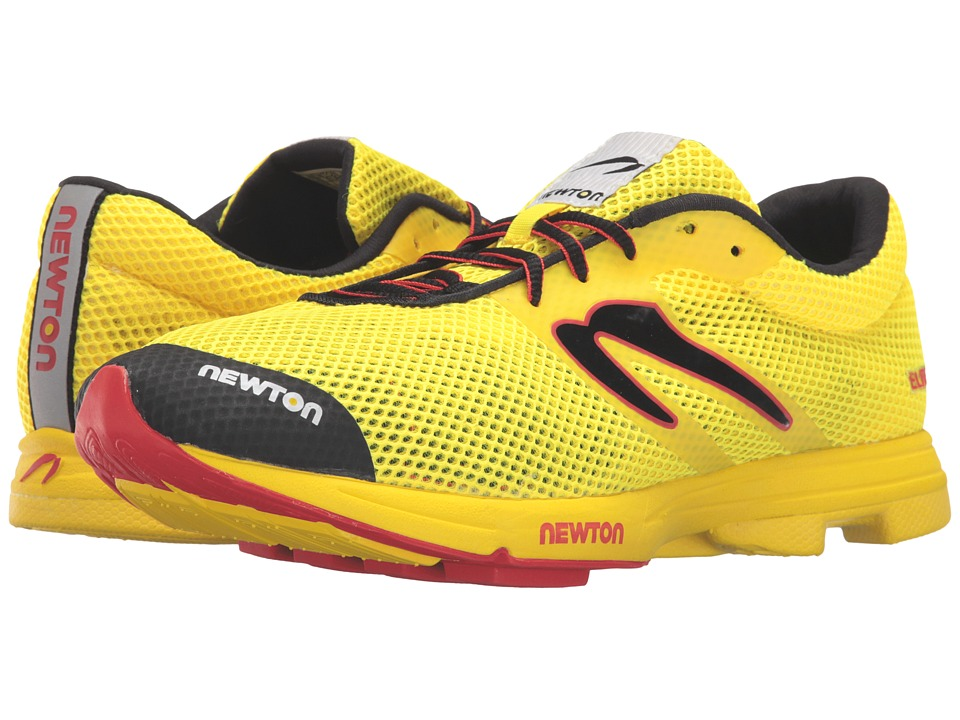 Newton Running - Distance Elite (Yellow/Red) Mens Running Shoes