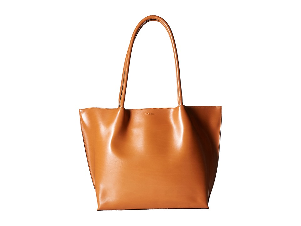 Lodis Accessories - Audrey Ebony Work Tote (Toffee) Tote Handbags
