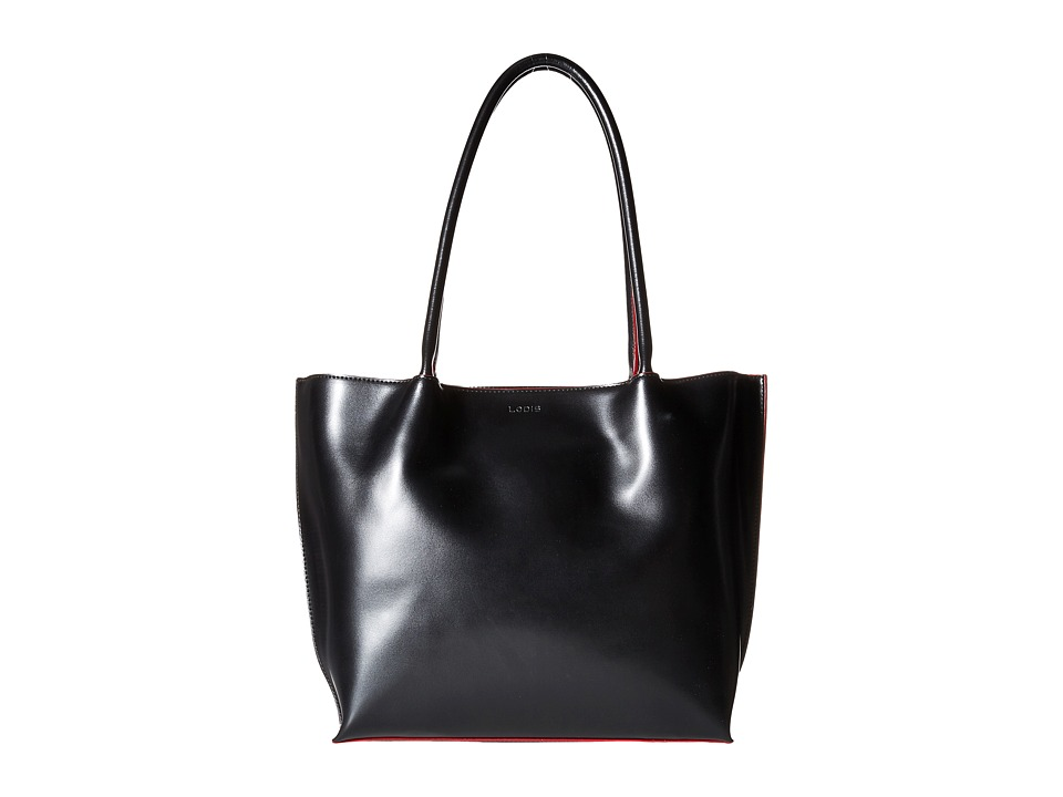Lodis Accessories - Audrey Ebony Work Tote (Black) Tote Handbags