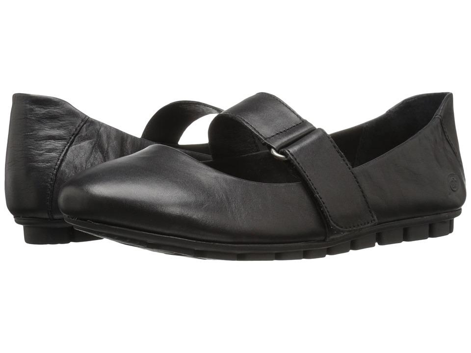 Born - Malli (Black Full Grain Leather) Women