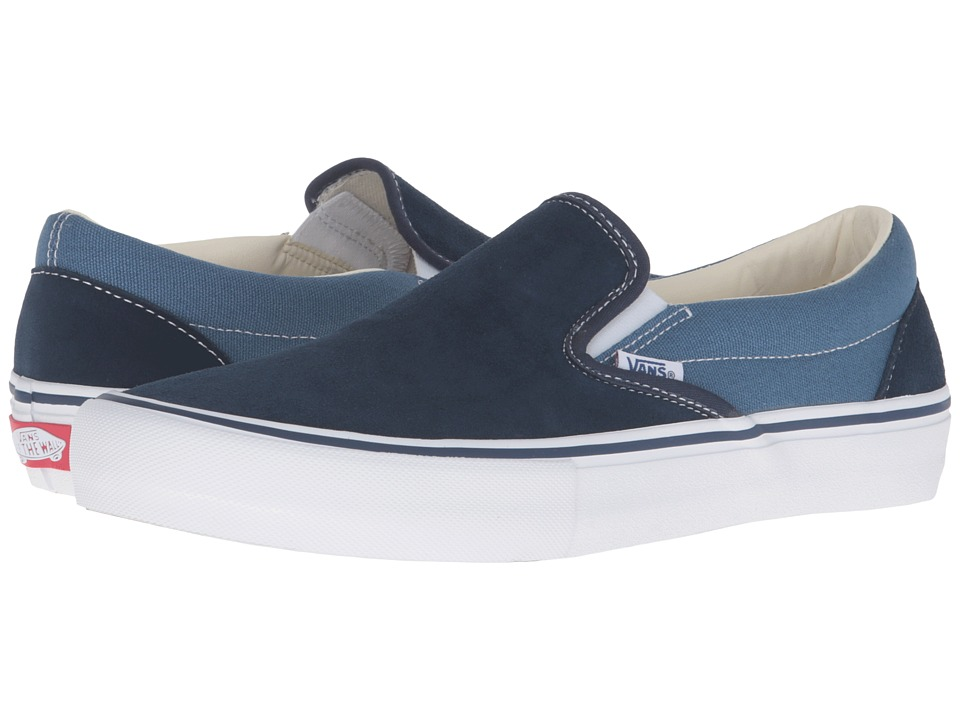 Vans - Slip-On Pro ((Two-Tone) Navy/STV Navy) Men