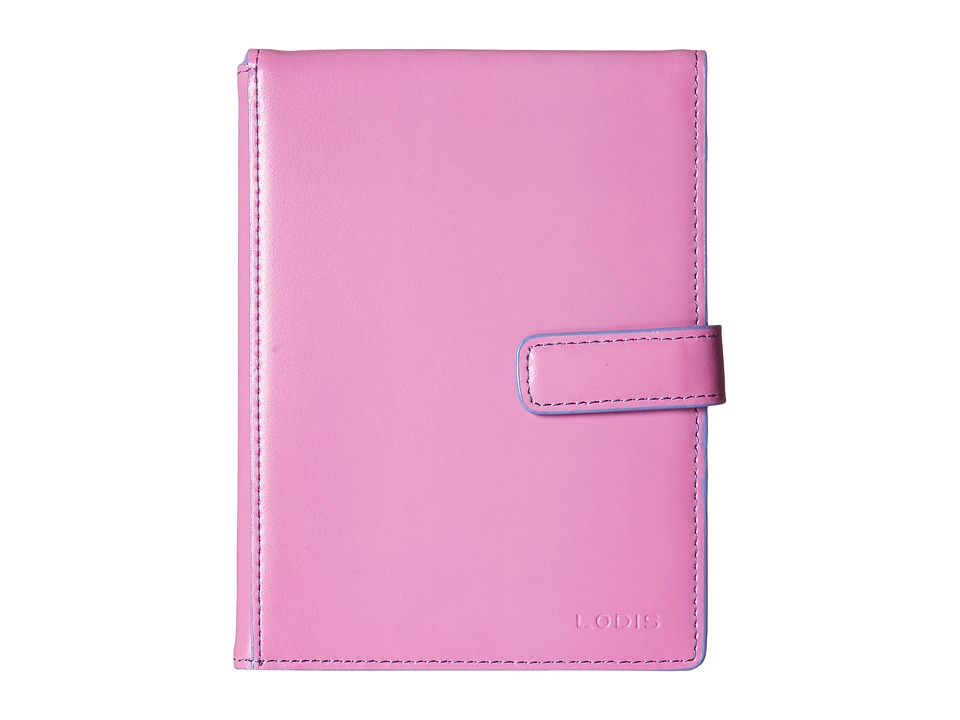 Lodis Accessories - Audrey Passport Wallet w/ Ticket Flap (Rose/Lilac) Checkbook Wallet