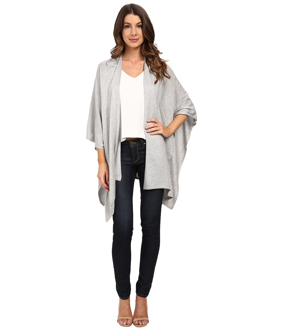 Echo Design - Everyday Luxe Ruana (Heather Grey) Women