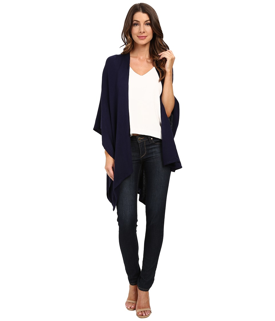 Echo Design - Everyday Luxe Ruana (Navy) Women