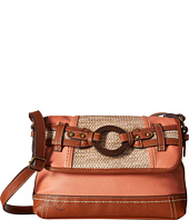 b.o.c. - Nayarit Straw Flap Crossbody
