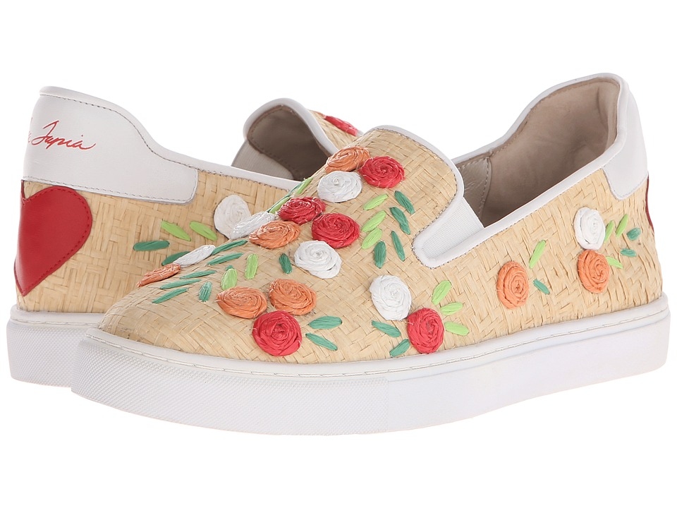 Isa Tapia Frida Natural Raffia Womens Shoes