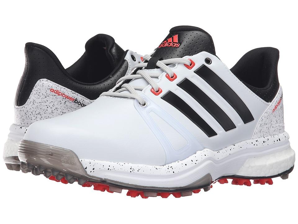 adidas Golf - Adipower Boost 2 (Clear Grey/Black/Ftwr White) Men