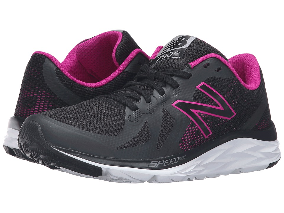New Balance 790v6 (Black/Poison Berry) Women's Running Shoes