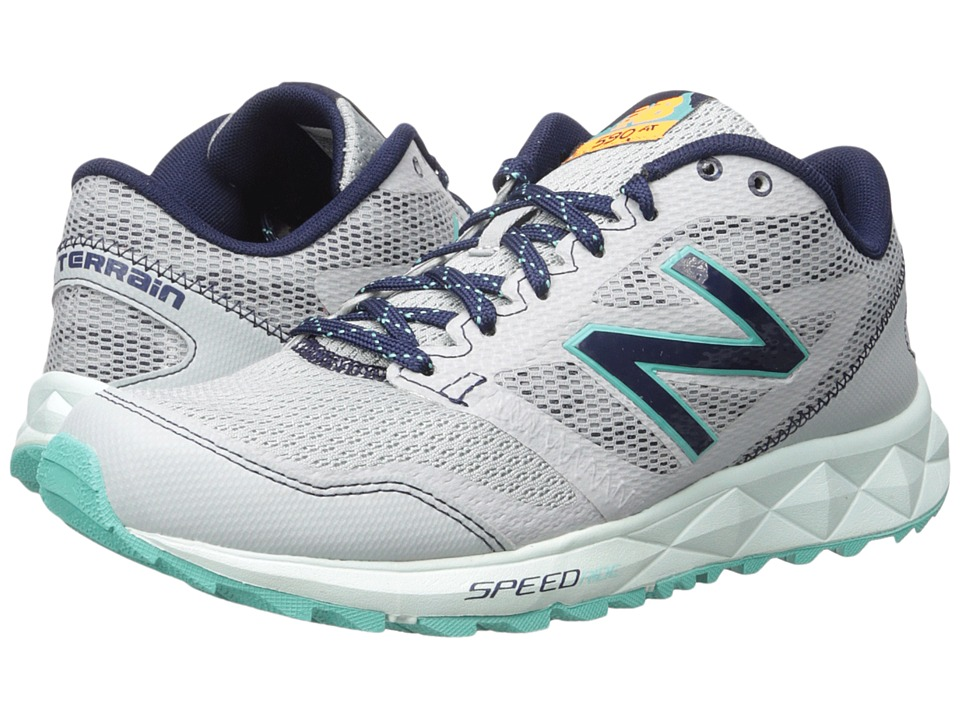 New Balance 590 V2 (Grey/Navy) Women