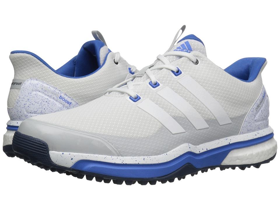 adidas Golf - Adipower Sport Boost 2 (Ftwr White/Clear Grey/Ray Blue) Men