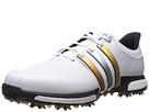 adidas Golf Tour 360 Boost (Ftwr White/Gold Metallic/Core Black)