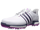 adidas Golf Tour 360 Boost (Ftwr White/Flash Pink/Mineral Blue)