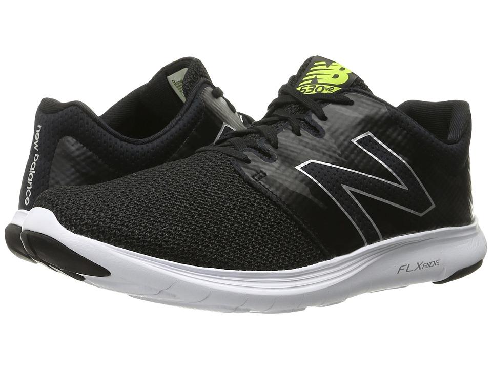 New Balance - M530v2 (Black/Grey) Mens Running Shoes
