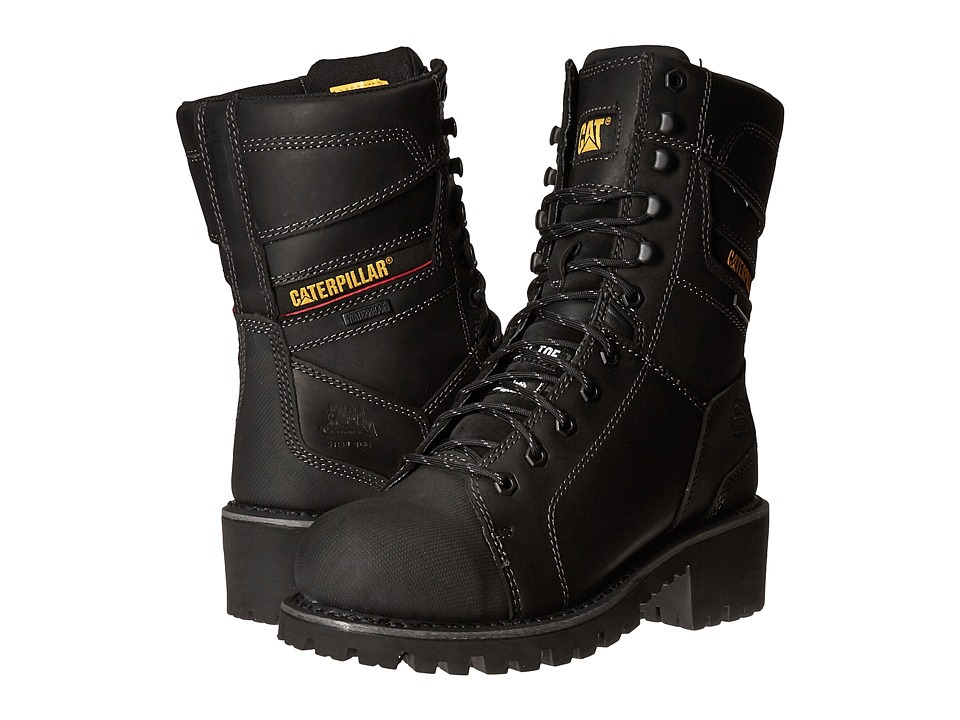 Caterpillar Casebolt Waterproof TX Steel Toe (Black) Men