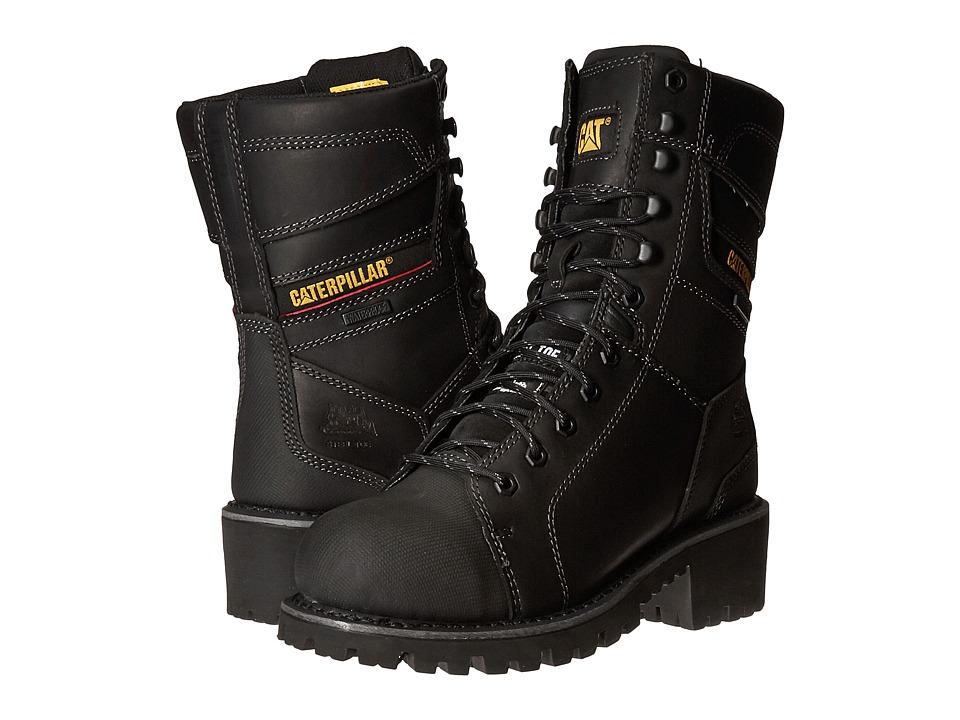 Caterpillar Casebolt Waterproof TX Steel Toe (Black) Men
