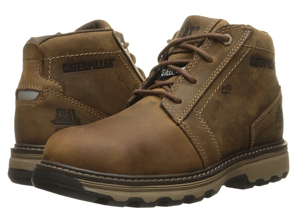 Caterpillar Parker ESD Steel Toe (Dark Beige) Men