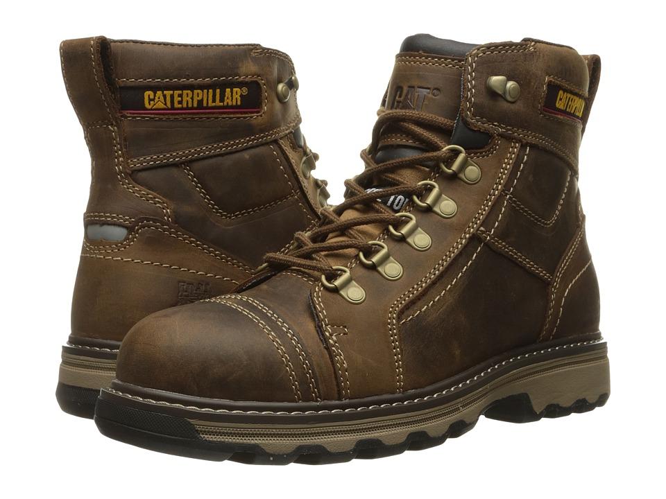Caterpillar Granger 6 Steel Toe (Dark Beige) Men