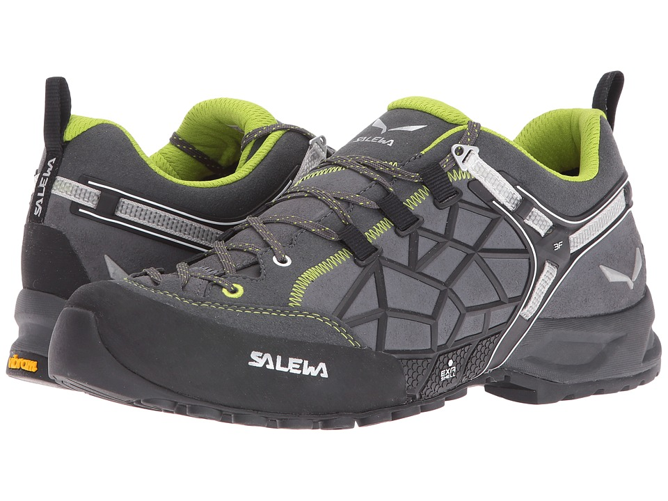 SALEWA Wildfire Pro (Carbon/Green) Shoes