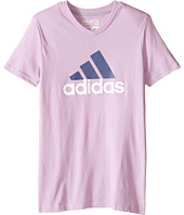 adidas Kids - Adi Logo Short Sleeve Tee (Big Kids)