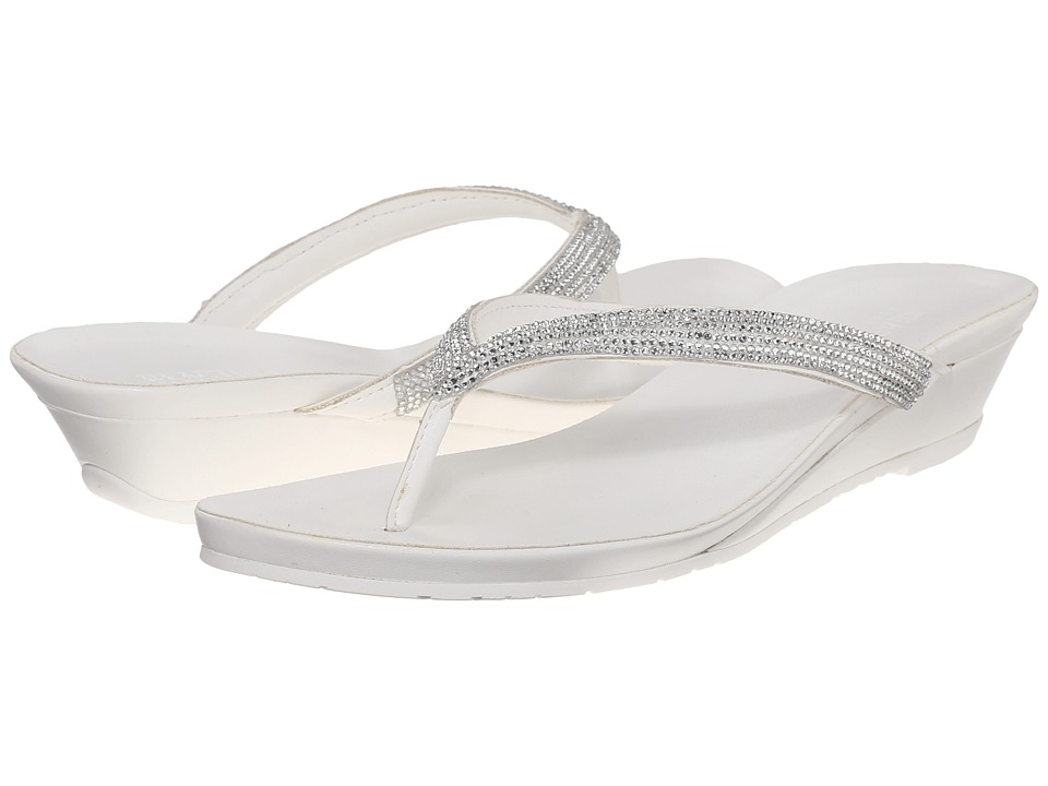 Kenneth Cole Reaction Great Time White Womens Sandals