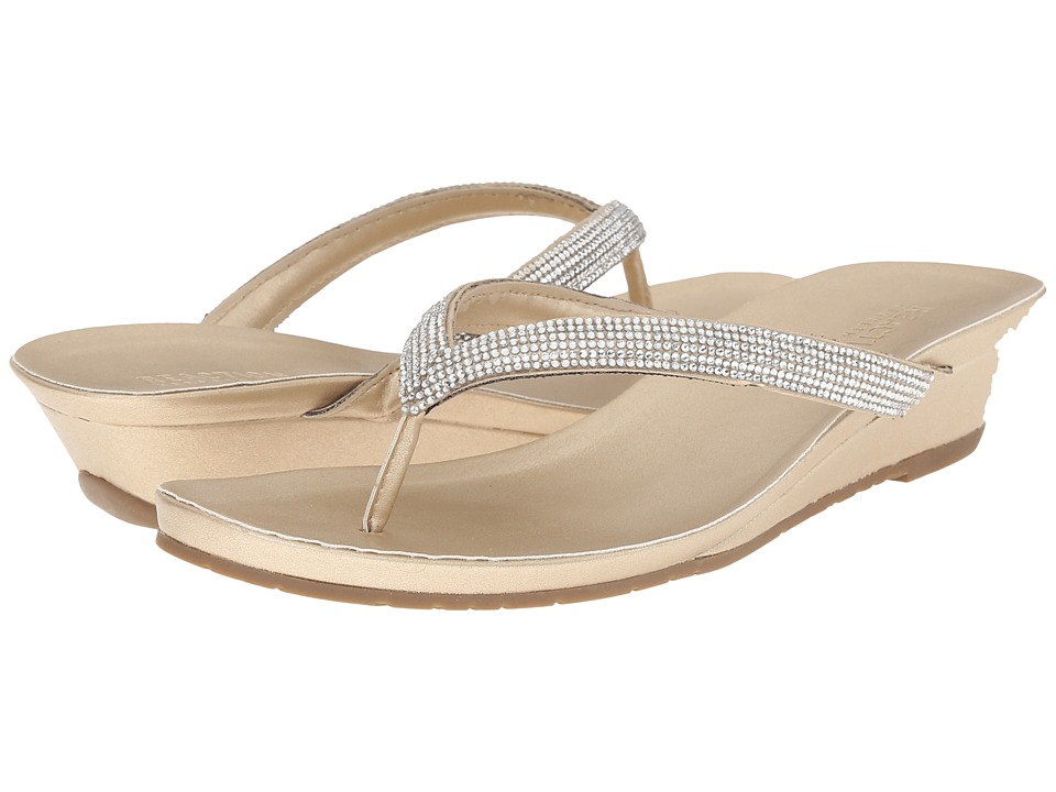 Kenneth Cole Reaction Great Time Soft Champagne Womens Sandals