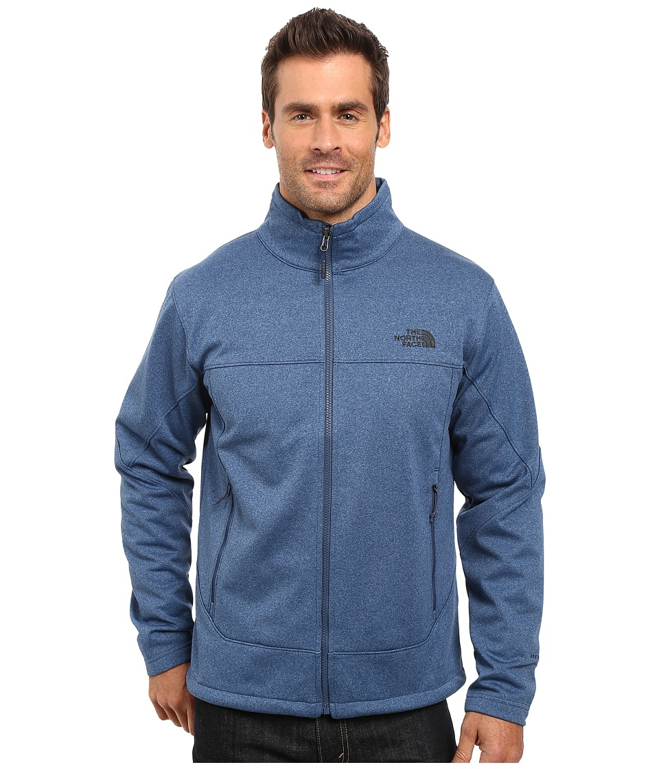 The North Face Canyonwall Jacket (Shady Blue Heather/Shady Blue Heather) Men