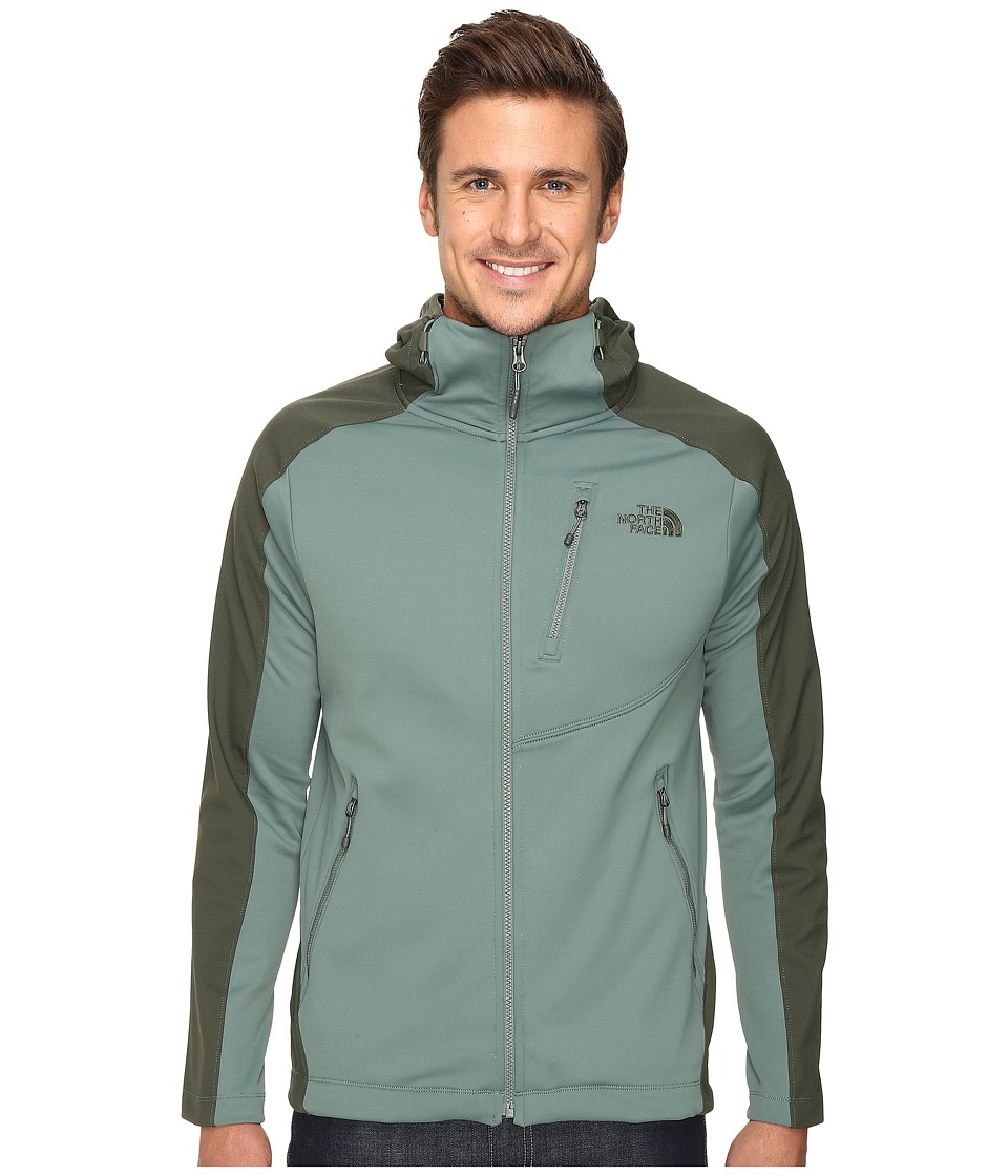 The North Face - Tenacious Hybrid Hoodie (Duck Green/Climbing Ivy Green) Men