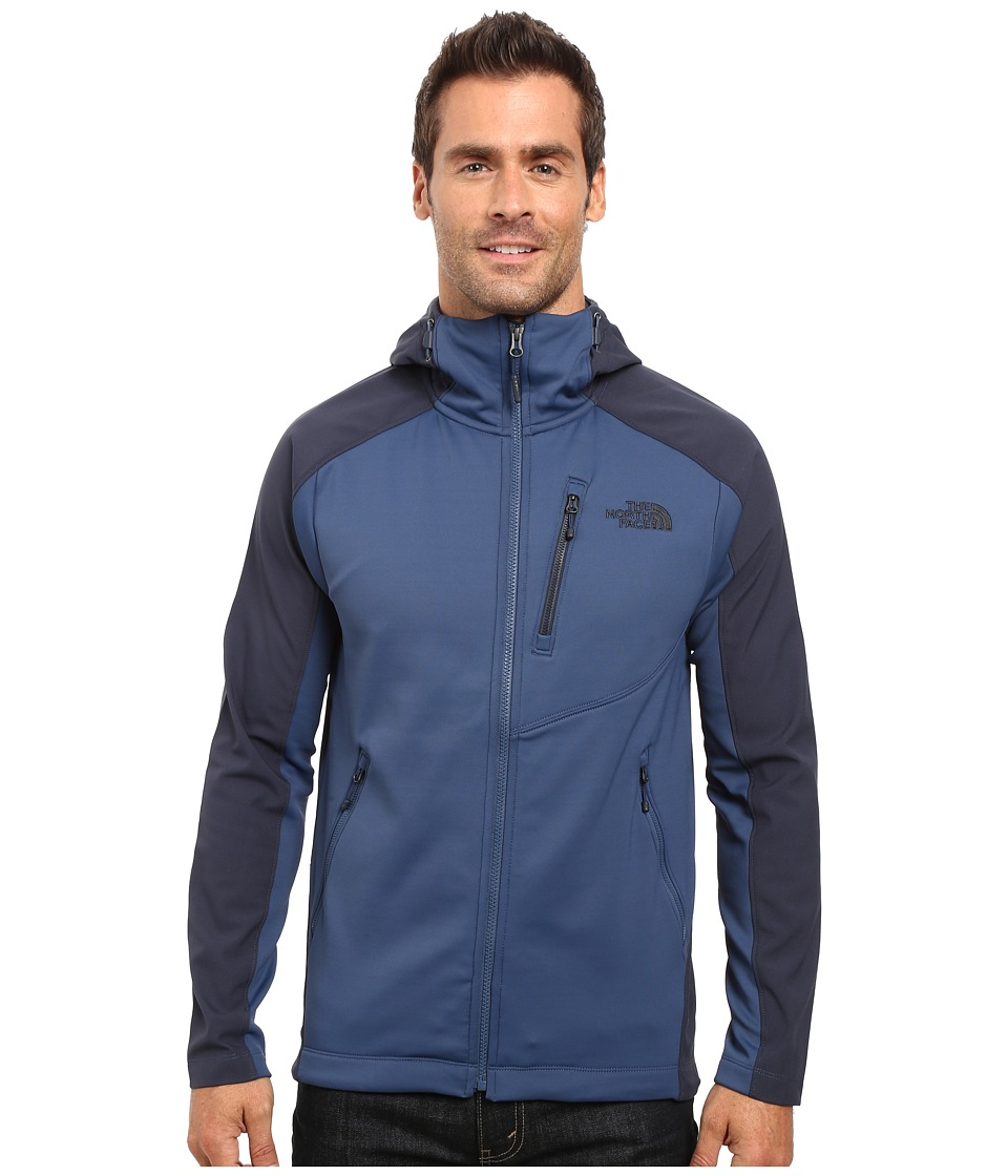 The North Face - Tenacious Hybrid Hoodie (Shady Blue/Urban Navy) Men