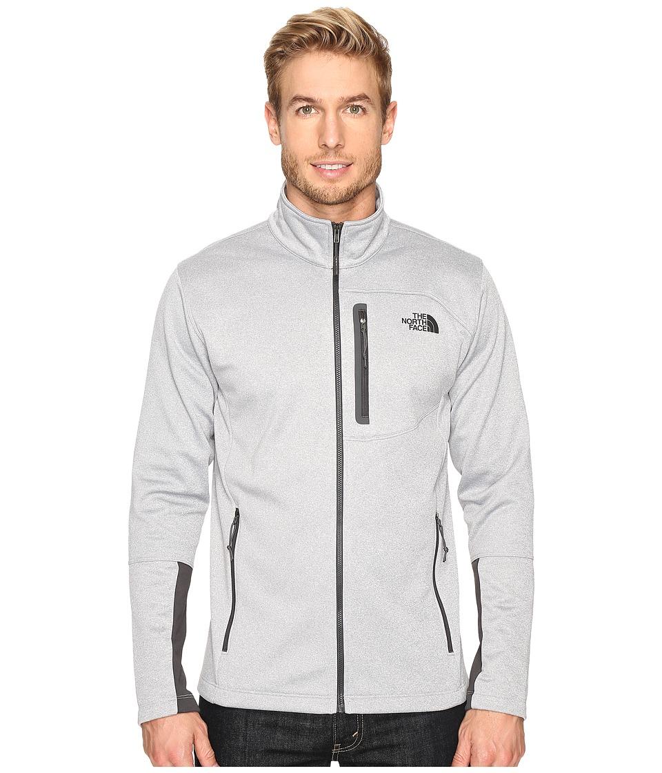 The North Face Canyonlands Full Zip Sweatshirt (TNF Light Grey Heather) Men
