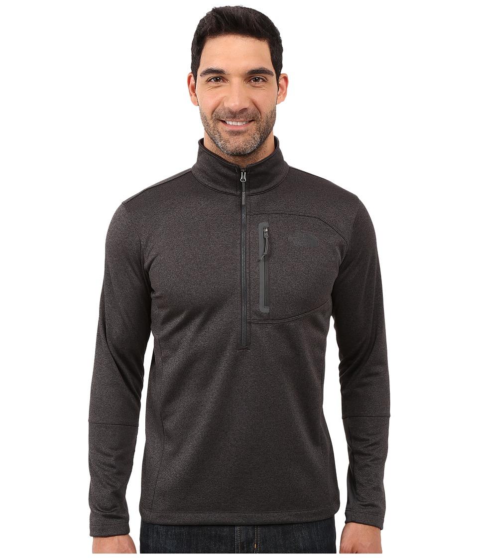 The North Face - Canyonlands 1/2 Zip Pullover (TNF Dark Grey Heather) Mens Sweatshirt