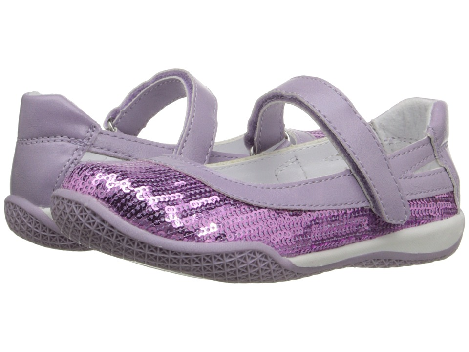 W6YZ Kathy Toddler/Little Kid Purple Girls Shoes