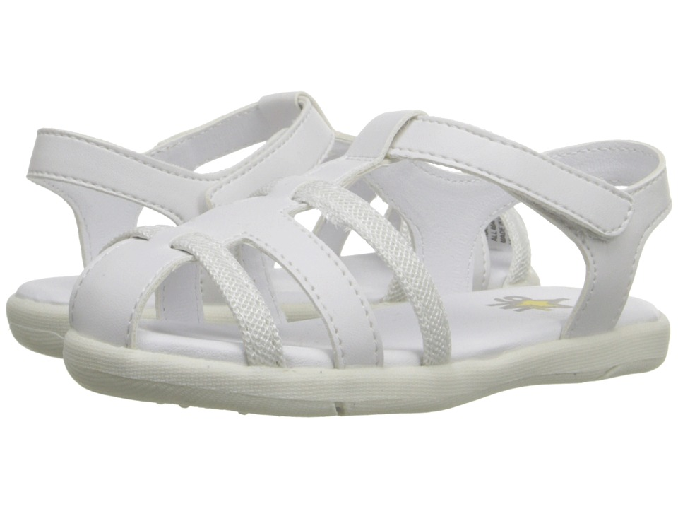 W6YZ Holly Toddler/Little Kid White Girls Shoes