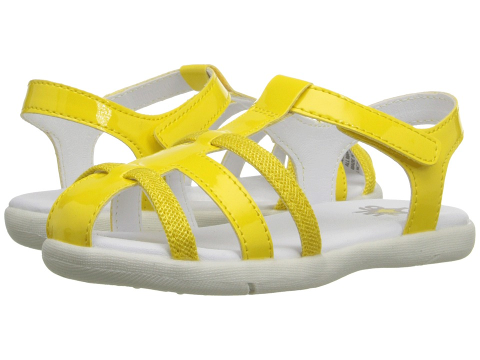 W6YZ Holly Toddler/Little Kid Yellow Girls Shoes