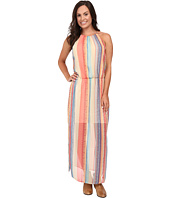 Stetson - Aztec Stripe Chiffon Sleeveless Maxi Dress