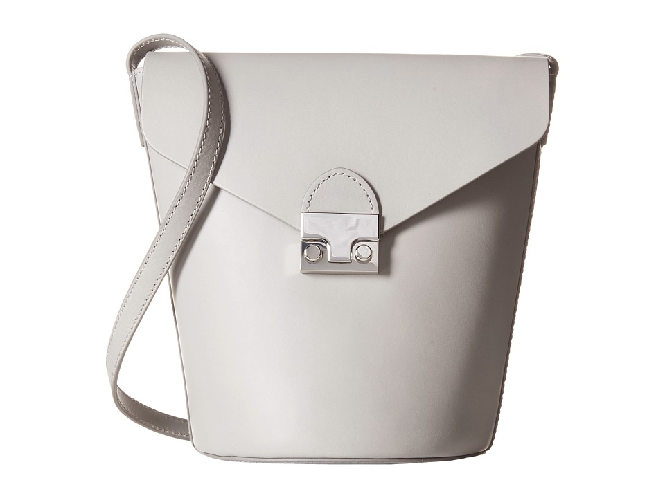 Loeffler Randall - Flap Bucket (Dove Grey) Handbags