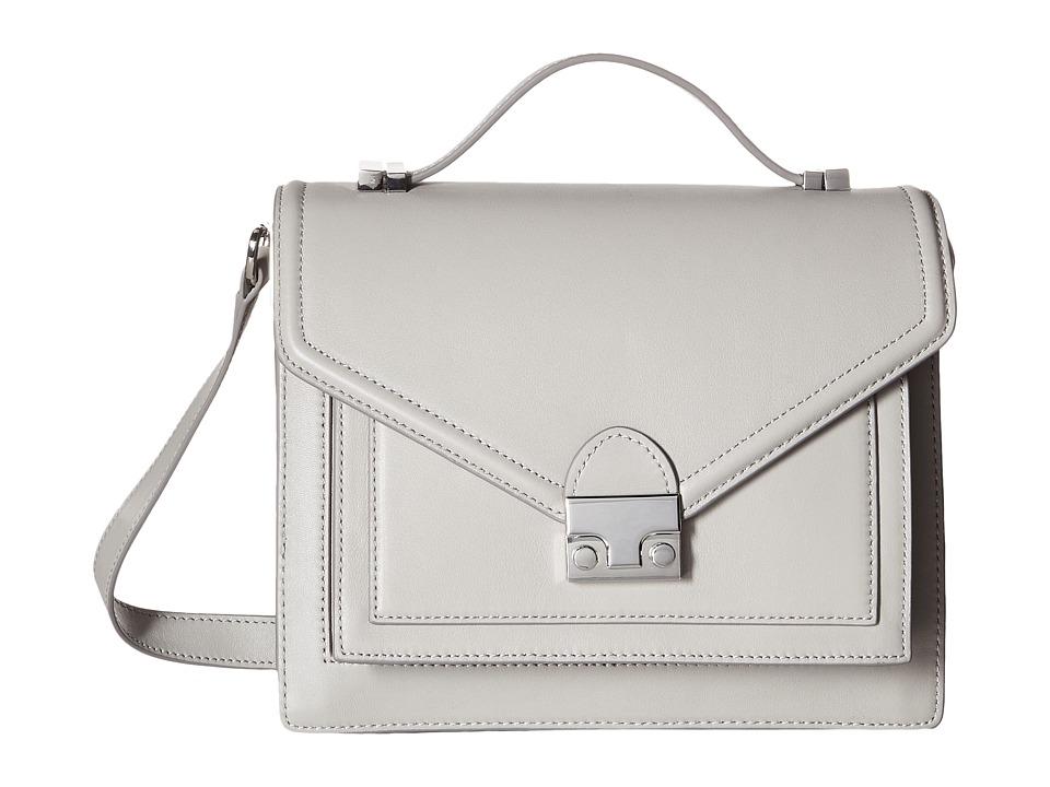 Loeffler Randall - Medium Rider (Dove Grey) Handbags