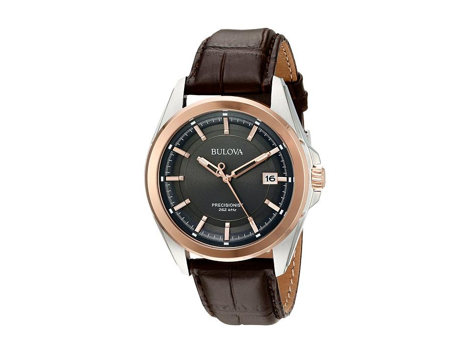 Bulova - Precisionist - 98B267 (Brown) Watches